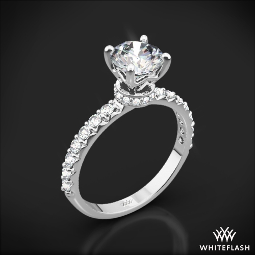 Eternity Wrap Diamond Engagement Ring