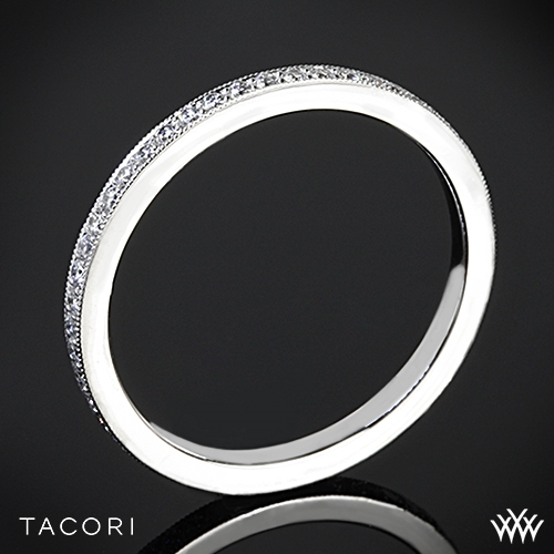 Tacori 2526ETML Eternity Millgrain Diamond Wedding Ring