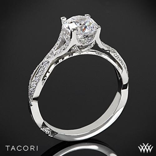Tacori 2565SM Criss-Cross Diamond Engagement Ring