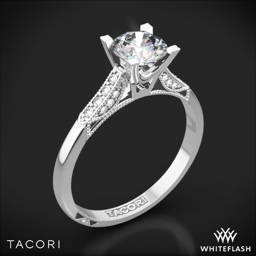 Tacori Simply Tacori 2586 Pave Diamond Engagement Ring