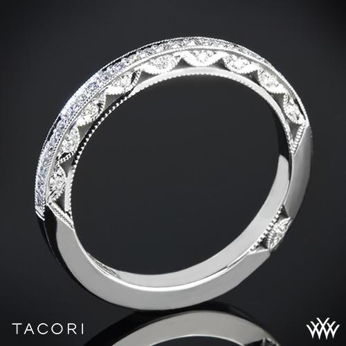 Tacori 2616B Classic Crescent Pave Diamond Wedding Ring