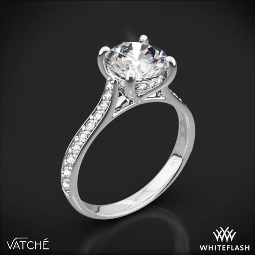 Vatche 1502 Saran Diamond Engagement Ring