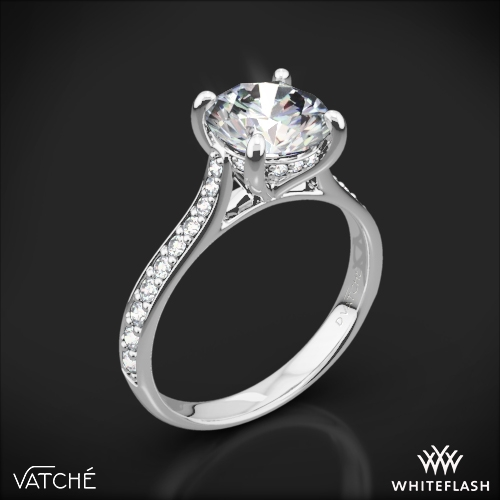 Vatche 1502 Saran Diamond Engagement Ring