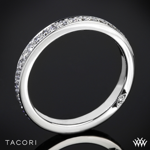 Tacori 2630BLG P Dantela Eternity Large Pave Diamond Wedding Ring