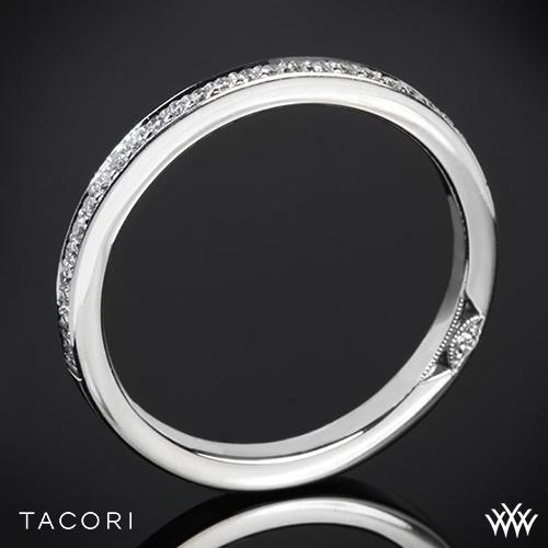 Tacori 2630BSM P Dantela Small Pave Diamond Wedding Ring
