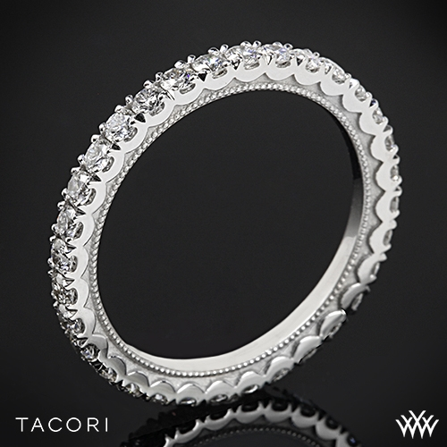 Tacori 33-2ET Clean Crescent Eternity Diamond Wedding Ring