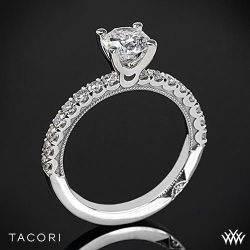 Tacori 33-2RD Clean Crescent Diamond Engagement Ring