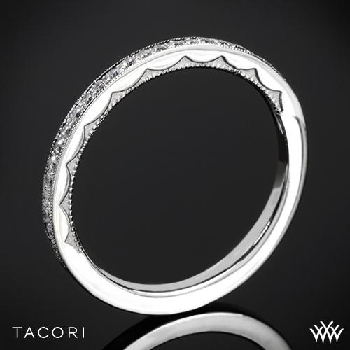 Tacori 41-15 Sculpted Crescent Diamond Wedding Ring