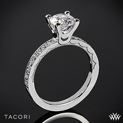 tacori 41 25 rd sculpted crescent half eternity large
