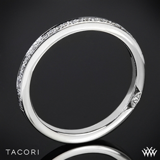 Tacori 2630BSM P Dantela Small Pave Diamond Wedding Ring