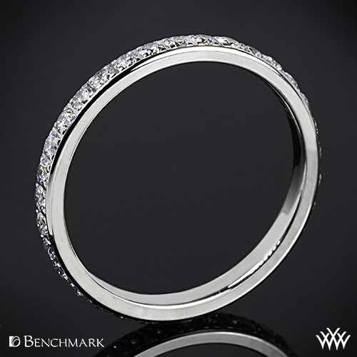 Benchmark Full Eternity Diamond Wedding Ring