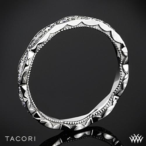 Tacori 46-25ET Sculpted Crescent Eternity Diamond Wedding Ring