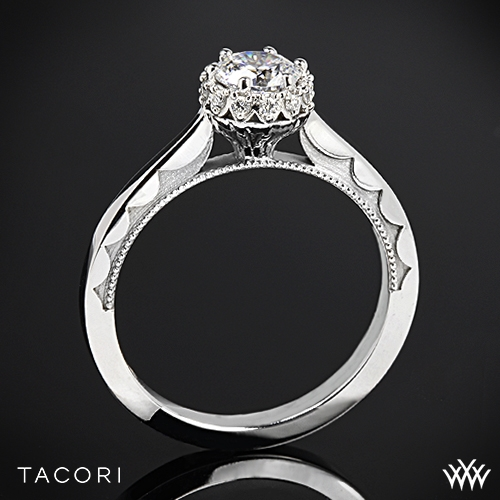 tacori sculpted crescent harmony solitaire engagement ring