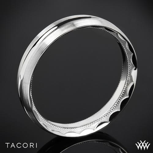 Tacori 72-5WS Sculpted Crescent Satin Wedding Ring