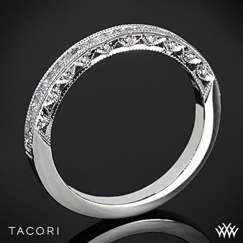 Tacori HT2430SMB Classic Crescent Diamond Wedding Ring
