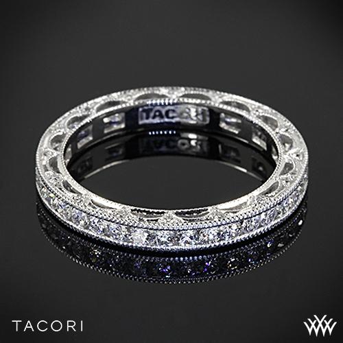 Tacori Ht2510b Reverse Crescent Eternity Star Diamond