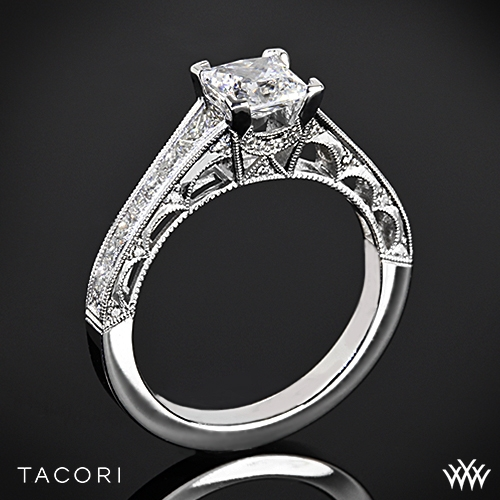 Tacori HT2510PR Reverse Crescent Graduated for Princess