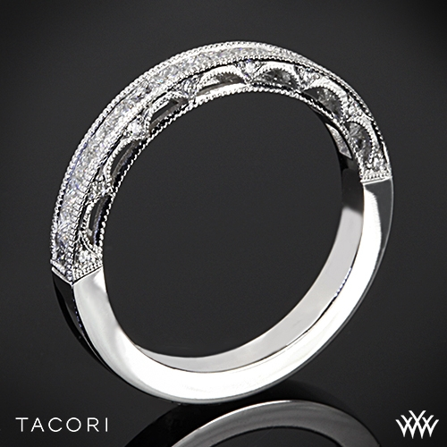 Tacori HT2510PRB Reverse Crescent Princess Star Diamond Wedding Ring
