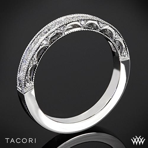 Tacori HT2510PRB Reverse Crescent Princess Star Diamond Wedding Ring