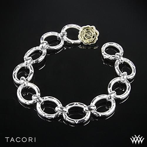 Tacori SB102Y Lilac Blossoms Blushing Rose Link Bracelet