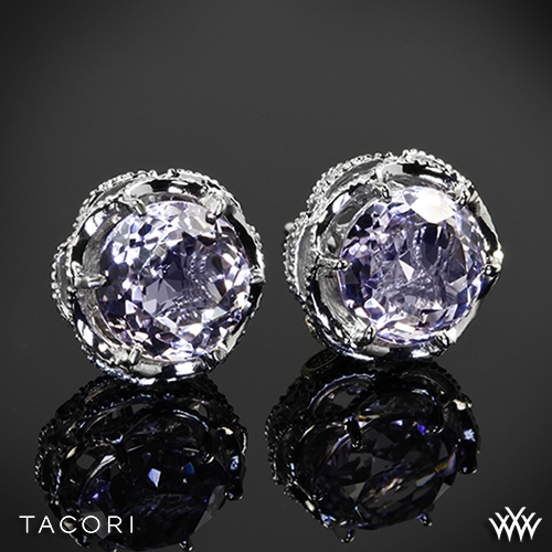 Tacori Blushing Rose Amethyst Earrings