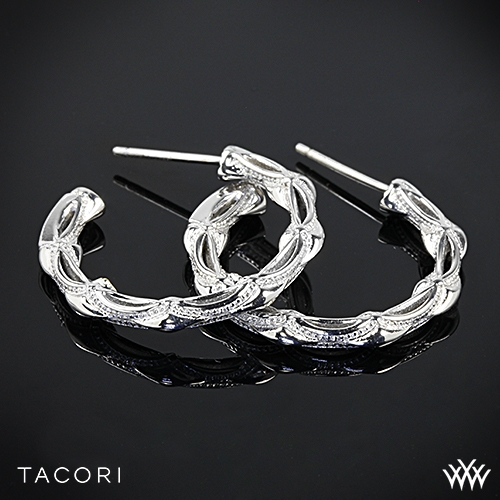 Tacori Classic Rock Small Hoop Earrings
