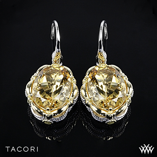 Tacori SE134Y04 Color Medley Citrine Dangle Earrings