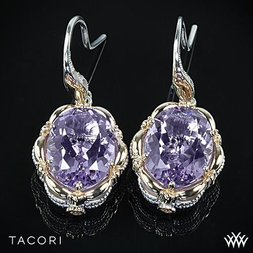 Tacori SE134P13 Color Medley Rose Amethyst Dangle Earrings