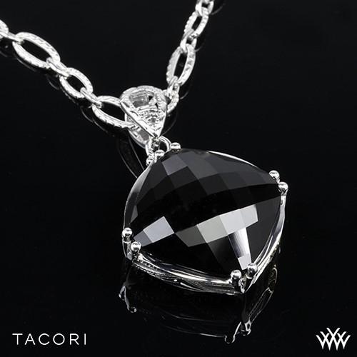 Tacori SN12819 Classic Rock Black Onyx Pendant
