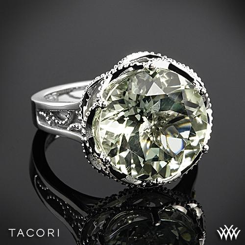 Tacori SR12312 Seafoam Mint Prasiolite Ring