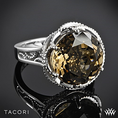 Tacori SR12317 Truffle Smokey Quartz Ring