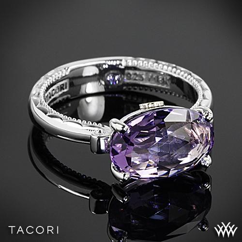 Tacori SR13901 Lilac Blossoms Amethyst Ring