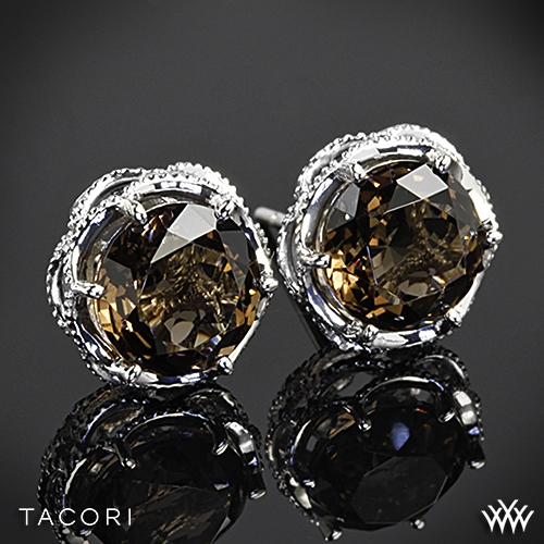 Tacori Truffle Smokey Quartz Earrings