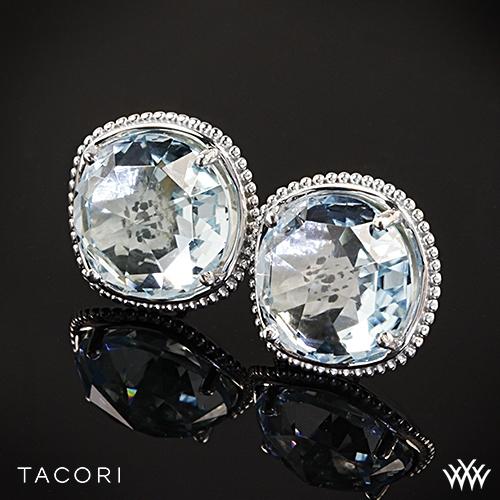 Tacori SE15602 Island Rains Sky Blue Topaz Stud Earrings