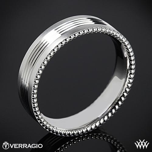 Verragio 6NO6 Quad Channel Wedding Ring