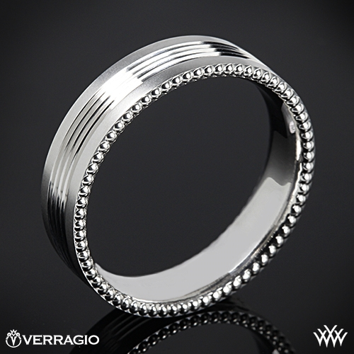 Verragio 6NO6 Quad Channel Wedding Ring