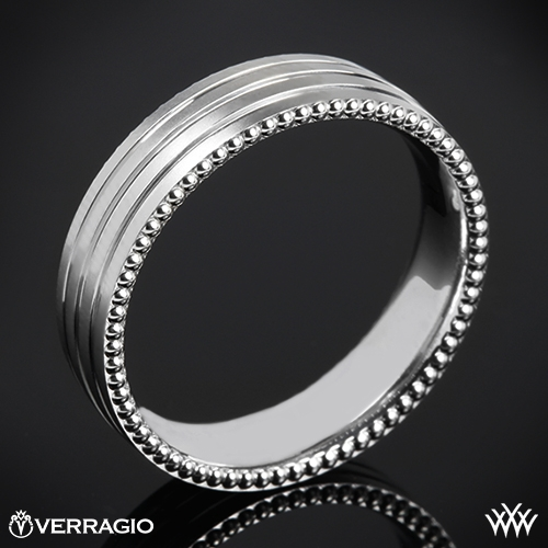 Verragio 6N08 Rowed Satin Wedding Ring