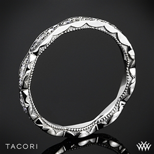 Tacori 46-25ET Sculpted Crescent Eternity Diamond Wedding Ring