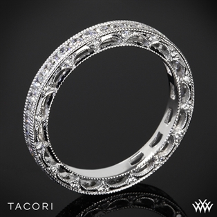 Tacori HT2510B Reverse Crescent Eternity Star Diamond Wedding Ring