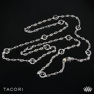 Tacori SN10819 Black Lightning Black Onyx Necklace