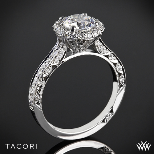 Tacori HT2522RD Blooming Beauties Botanical Diamond Engagement Ring