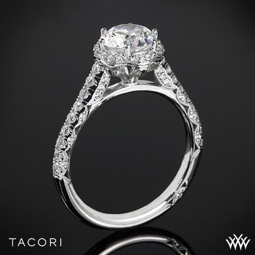 Tacori HT2547RD Petite Crescent Celestial Diamond Engagement Ring