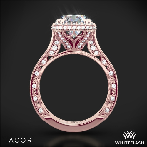 Tacori Royalt Cushion Style Bloom Diamond Engagement Ring