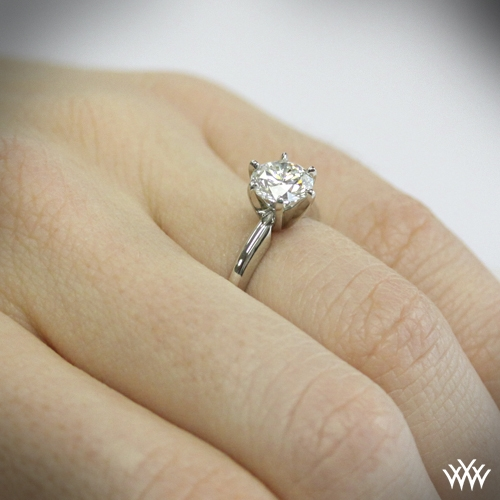 6 Prong Classic Diamond Solitaire 4