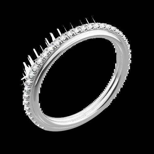 Danhov CB118-Q Classico Her Diamond Wedding Ring
