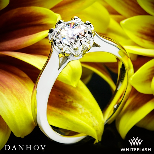 Danhov CL140 Classico Solitaire Engagement Ring