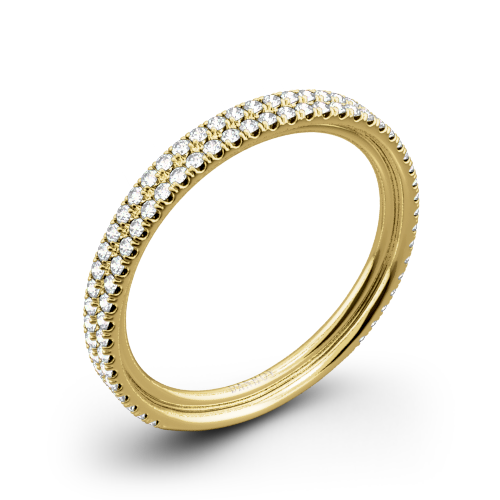 Danhov LB101-Q Per Lei Diamond Wedding Ring