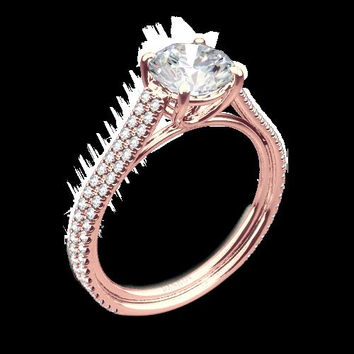 Danhov LE133 Per Lei Diamond Engagement Ring
