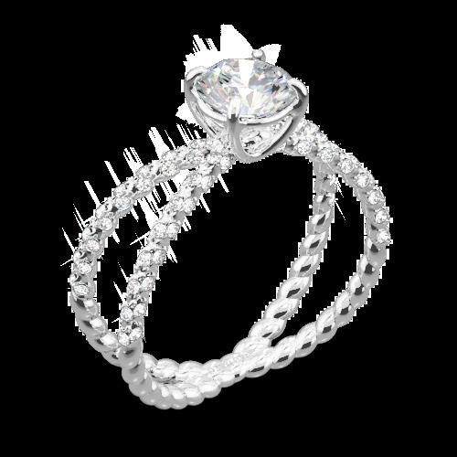 Danhov ZE185H Eleganza Diamond Engagement Ring
