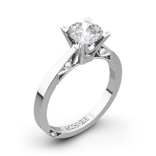 Tacori Simply Tacori Flat Edge Solitaire Engagement Ring